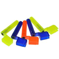 Acoustic Electric Guitar String Winder Multi-Color Guitar Peg String Winder Pin Remover Pack of 5